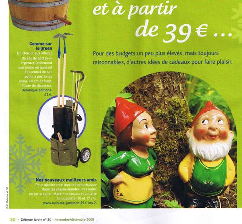 Martin le coquin tv presse blog du nain de jardin martin le coquin - Nain de jardin en terre cuite ...