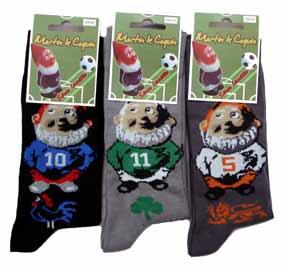 Nouveau : les chaussettes Martin le coquin footballeur ! | Blog du ...