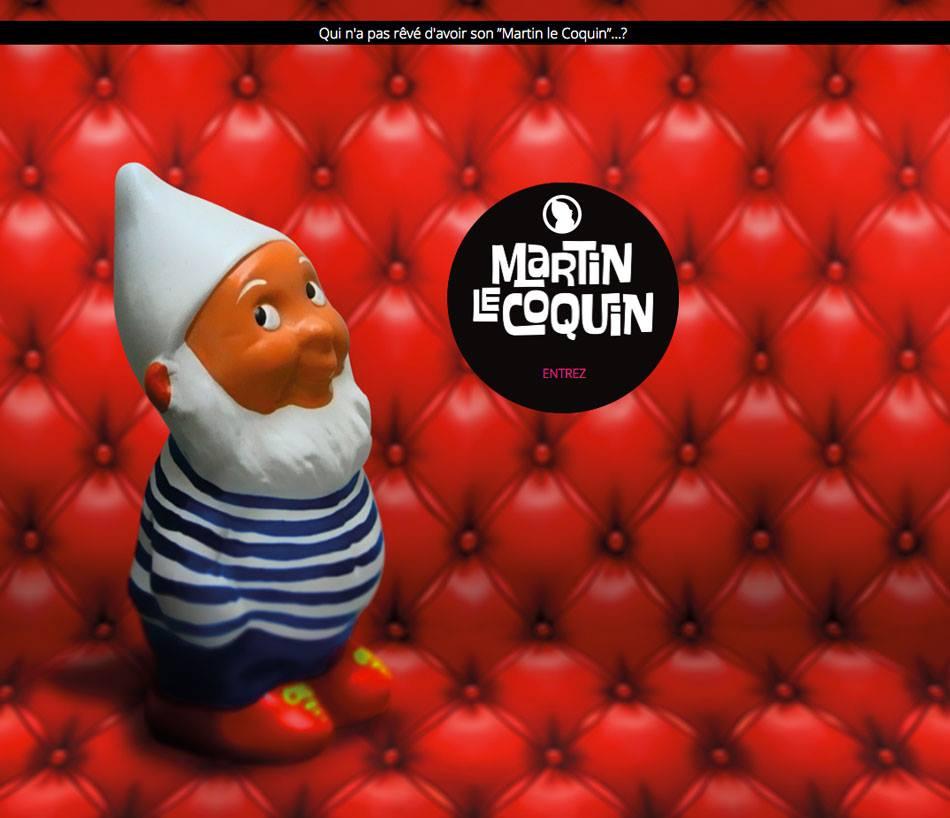 nouveau site de Martin le coquin